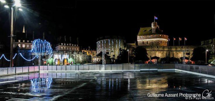 Saint-Malo. Animations de Noël. Une patinoire devant les remparts de Saint-Malo « Article « Le Pays Malouin