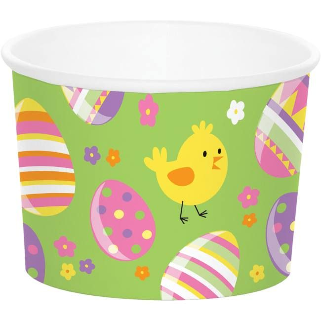 Easter Paper Treat Cups Easter Egg Designs Creative Converting Easter Theme Party