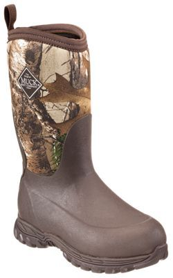 The Original Muck Boot Company Rugged II Winter Boots for Kids - Brown/Realtree Xtra - 2 M