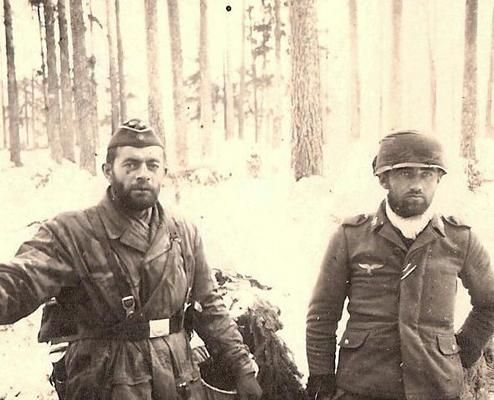 German paratroopers were used as infantry on the Eastern Front.