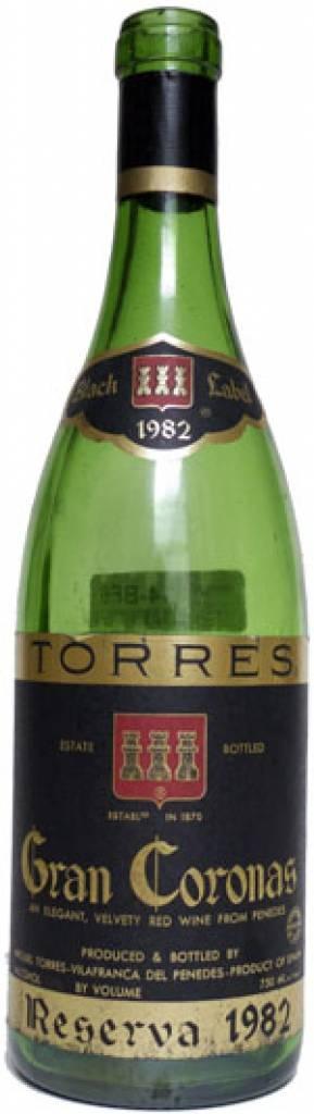 1983  Torres Gran Coronas Black Label Mas la Plana $57,99 Incl. Tax