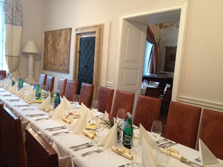 Banquet arrangement, Ducal Hall connected with Royal Hall. Banquet for 84 people / first floor of The Bonerowski Palace***** in #Krakow, #Poland #TheBonerowskiPalace #luxury #travel #boutique #hotel #conference #banquet #VIP