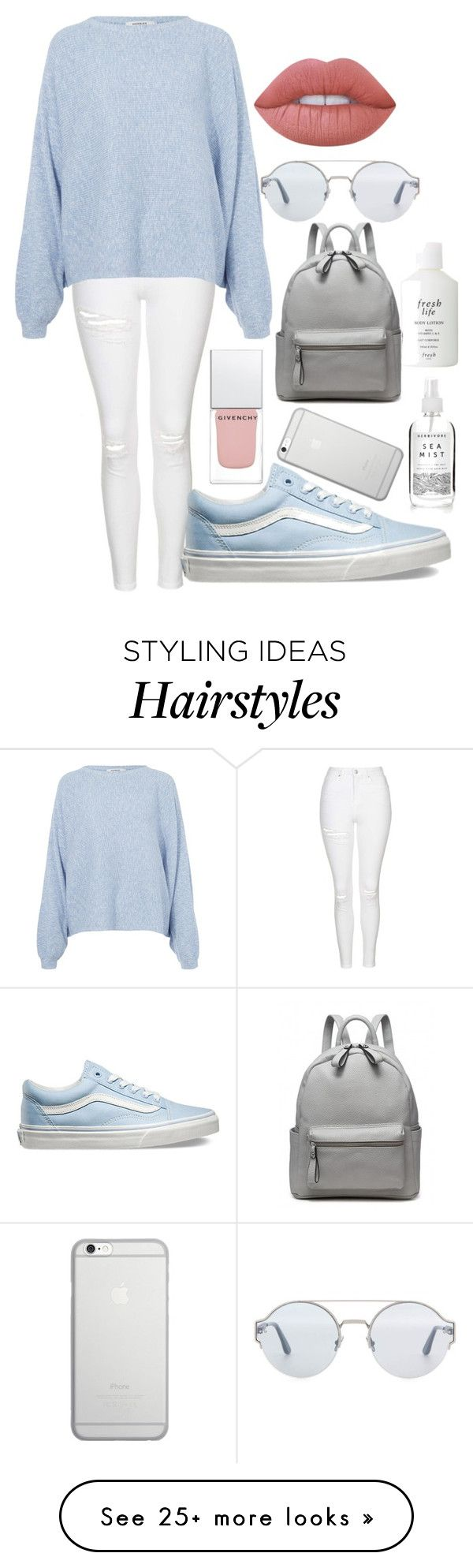 """Monday"" by jilld727 on Polyvore featuring Topshop, Rodebjer, Vans, Native Union, Lime Crime, Givenchy, Bottega Veneta and Fresh"