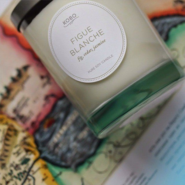Figue Blanche Candle by Kobo Candles | @giftryapp