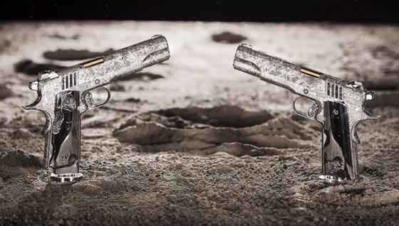 Unlike other handguns you may have seen, the .45 caliber Cabot 1911 took over 4 billion years to come to fruition and finds its origins in the moment the universe was created.
