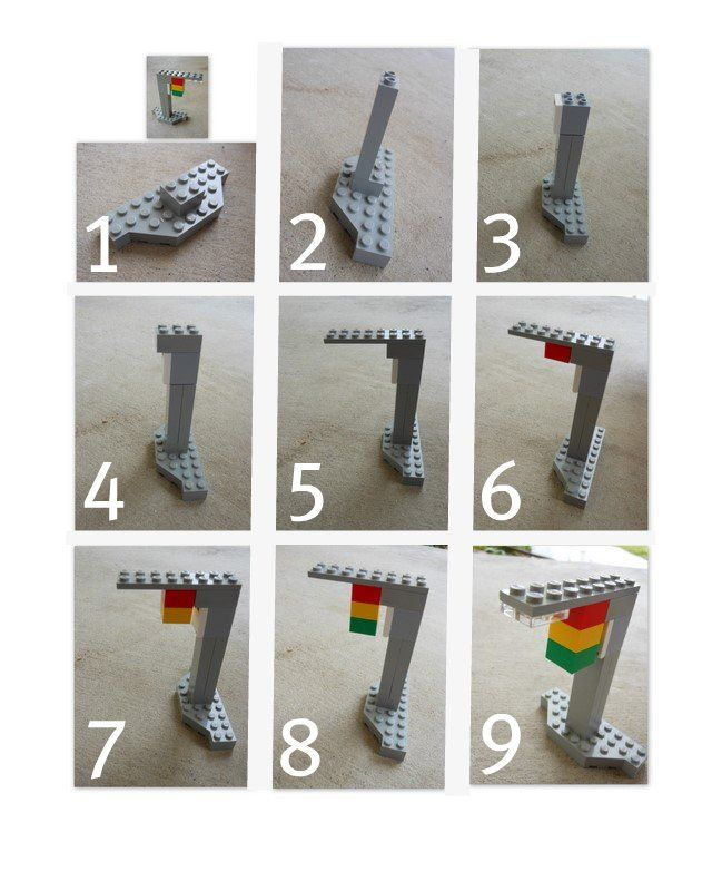 Kid-made Lego instructions