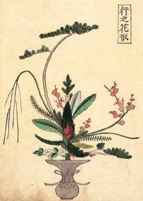 いけばな専慶流 様式と花型