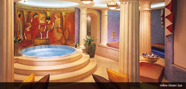 Willow Stream Spa at Dubai Fairmont Hotel