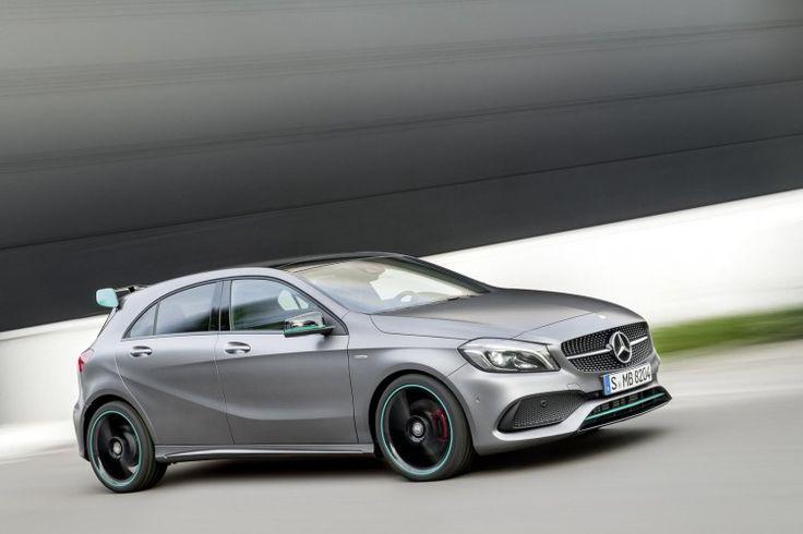 2016 Mercedes A-Class (facelift) unveiled