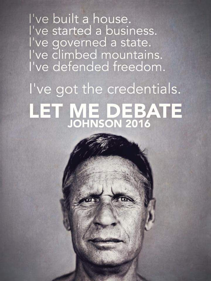 I voted for you Gary...people are stuck in a two-party rut...they just cannot let themselves imagine a different way.