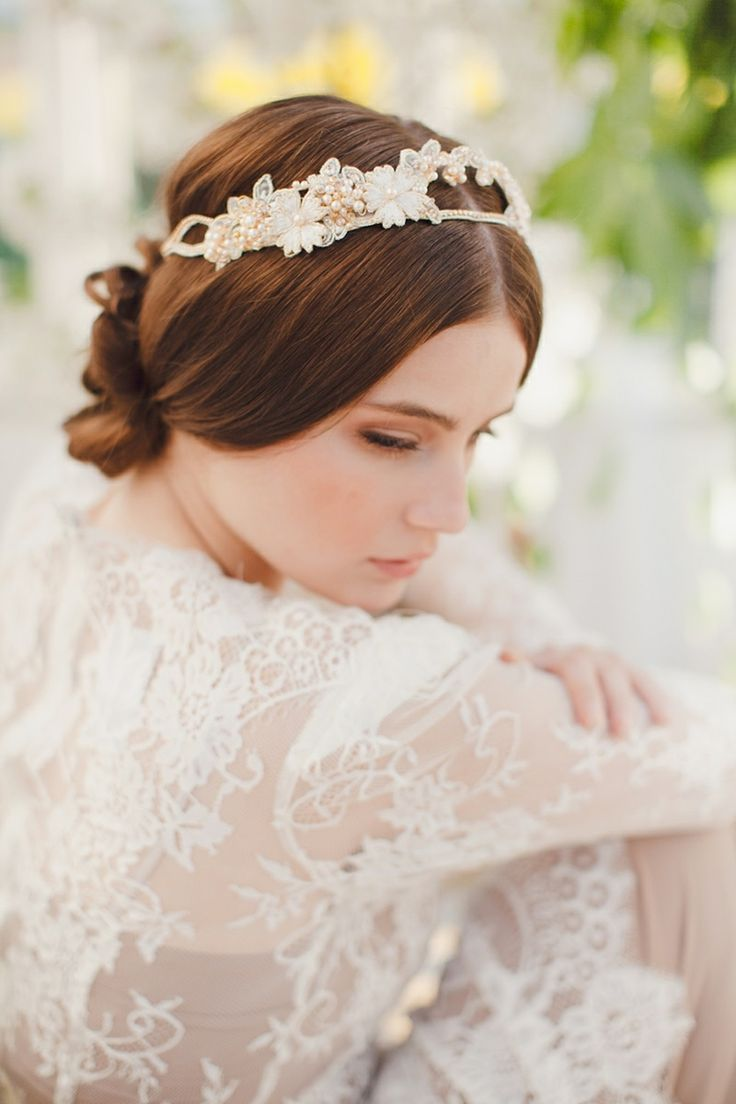 Swoon over jannie baltzer s wild nature bridal headpiece collection - View The Latest Jannie Baltzer 2014 Collection Of Bridal Headpieces Exquisite Headdresses And Heavenly Hair Vines Plus An Exclusive Designer Interview
