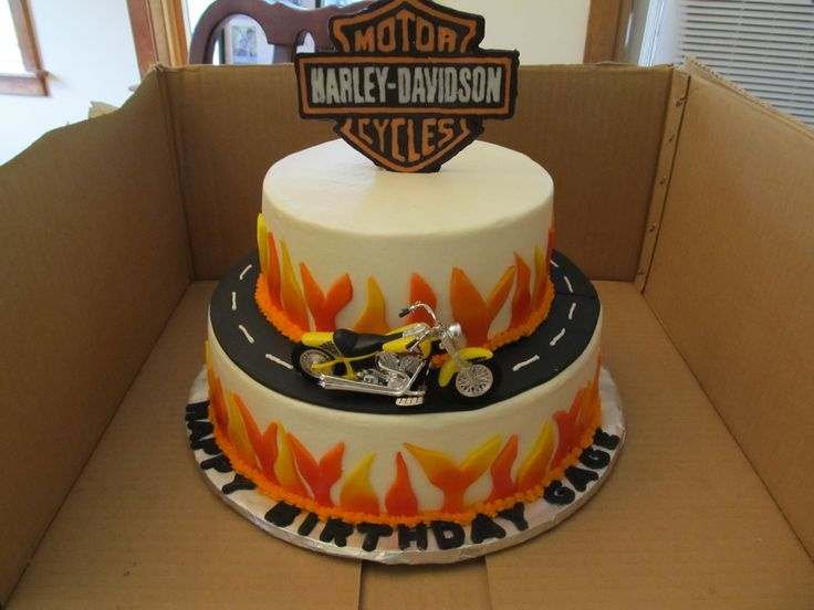 424 best Harley Cakes Cookies etc images on Pinterest Harley