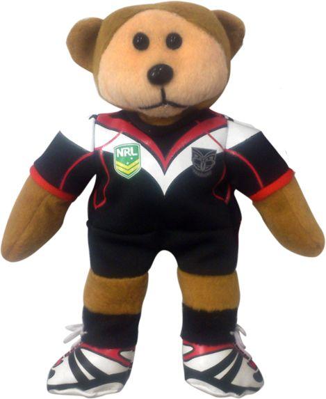 2014 Vodafone Warriors Home Bear #WarriorsGear #WarriorsForever #NRL #TeddyBear #Bear Go to www.warriorsstore.co.nz