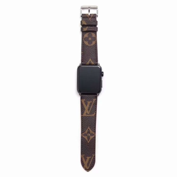 Apple Watch Band LV Leather Wristband Strap