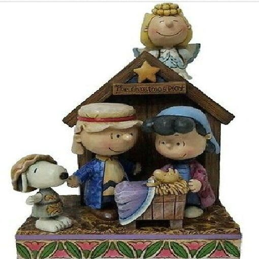 Jim Shore Snoopy Peanuts Christmas Nativity Pageant #4042370 new in box