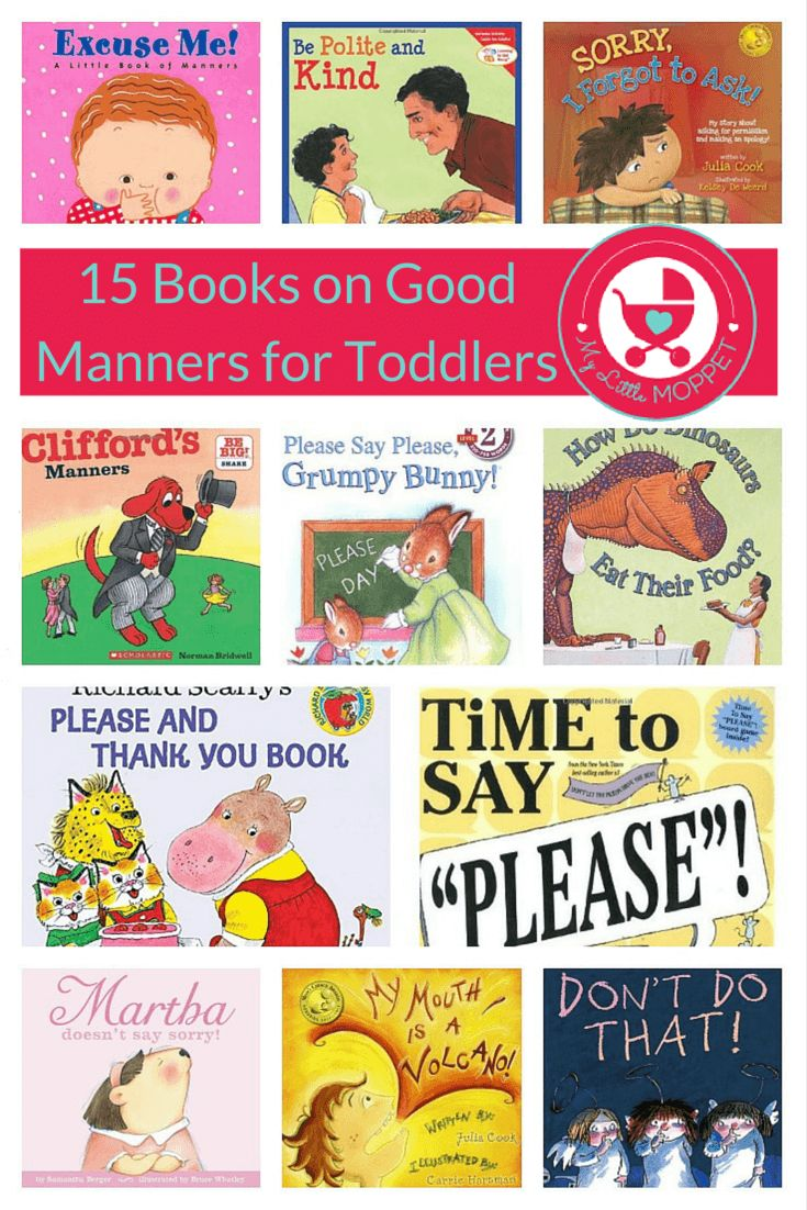 All parents agree that teaching kids manners is important, and it's best to catch them young! Here is our list of 15 books on good manners for toddlers, that parents and kids are sure to love!