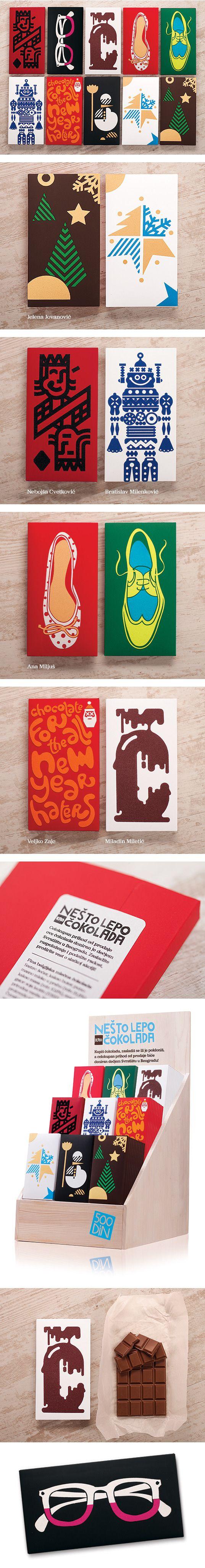 Sillas vintage el rinc 243 n di ree - Ne To Lepo Kao Okolada Chocolate Packaging By Veljko Zajc