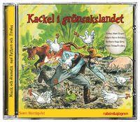 Kackel i grönsakslandet (cd-bok)