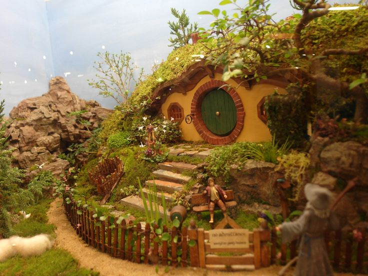 Boston Flower Show Design Your Own Home The Hobbit