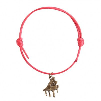 New Musical Cotton Bracelet - Grand Piano Red from Pentatonic Music - Rp 28.000