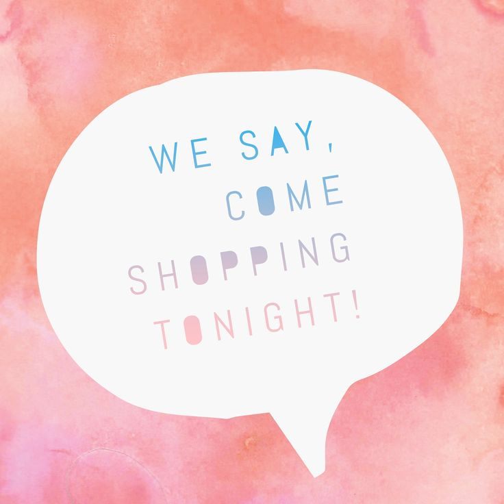 We say, come shopping tonight! Grab a girlfriend and come by! See you soon! #ShopALB #ApricotLaneTS