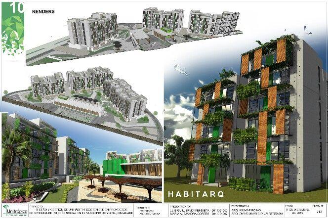 Habitarq modelo de vivienda incremental.