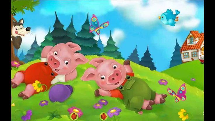Bajka Braci Grimm - Trzy Świnki