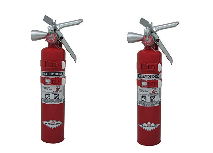 Amerex Tyf B385ts 2 5lb Halotron I Class B C Fire Extinguisher Pack Of 2 Review Extinguisher Fire Extinguisher Class B