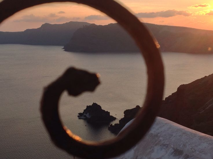 Oia, Santorini, Greece.  December 20th.