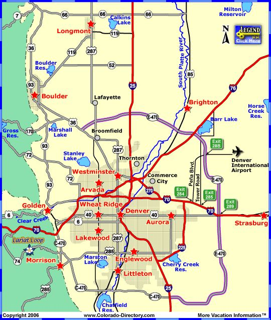 19 Best Images About Colorado Local Area Maps On Pinterest