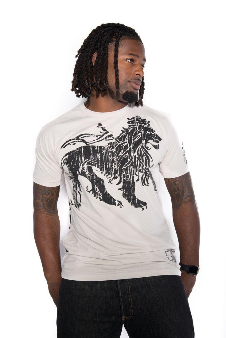 Cooyah Resting Lion shirt $25 at cooyah.com #rasta #fitness #lion