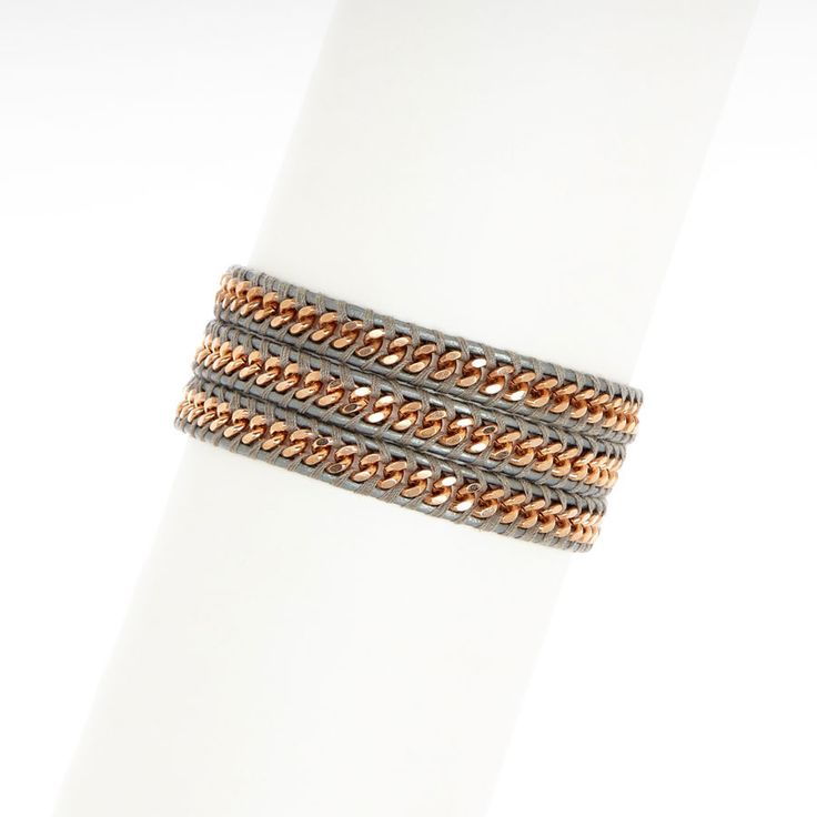 Chan Luu Exclusives -                                                                        Baguette Rhinestone Wrap Bracelet                                 Baguette Rhinestone Wrap Bracelet                                 Baguette Rhinestone Wrap Bracelet