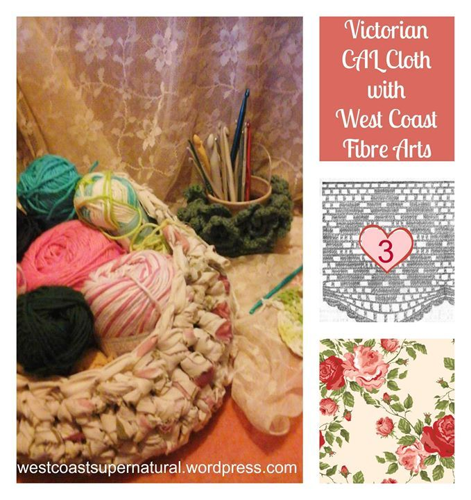 """This pattern is available now--50% off for the first week with no Code needed, as all the Cloth of the Month patterns are""""  LESS THAN $1 US first week! :) This one is a little different... a 're-design' of a pattern sent into an 1887 women's magazine, I have named it """"Belle's Wheel"""" after the woman who sent it in.  http://www.ravelry.com/patterns/library/victorian-cal-cloth-3 Victorian circle motifs, joined together to make a """"Tidy' or """"d'oyley"""" or """"antimacassar"""" were often called """"wheels.""""…"""