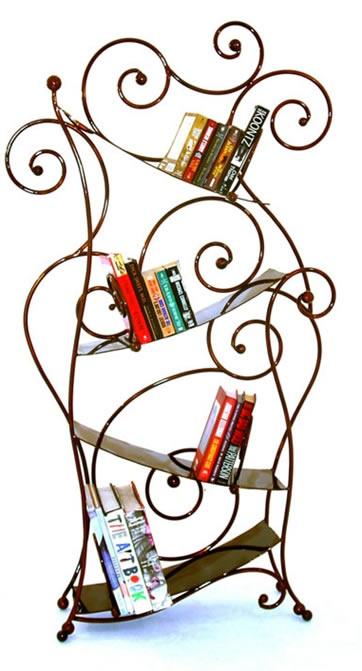 fun bookcase!: Fun Bookca, Bookca Handcrafted, Decor Ideas, Decor Dreams, Irons Bookcases, Design Decor, Irons Chinchillas, Padua Bookcases, Design Bookca
