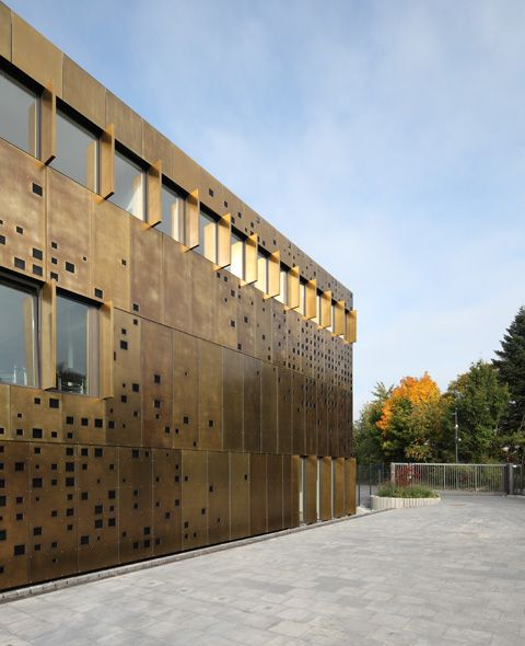 Bronze Brass Panels - For the client who rejects subtlety!