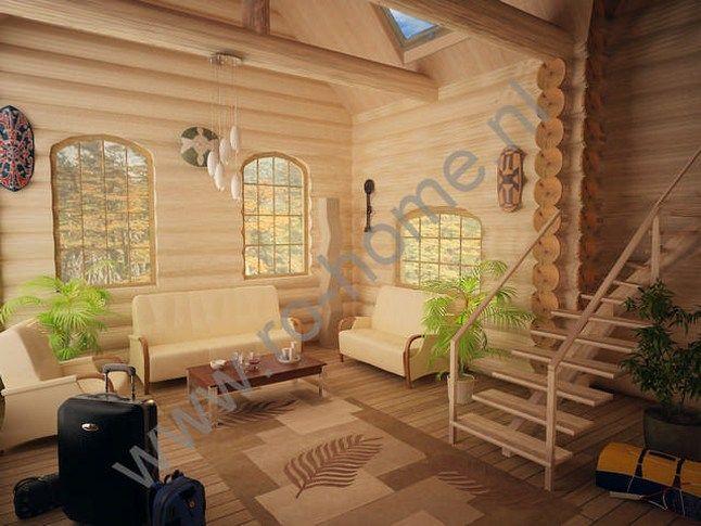 Houtstapelbouw Woning Luminita | Houten huis bouwen-amazing interior #houtstapelbouw #chalets #houtenhuizen #housesforsale #huistekoop #houten #huizen #houses #landscape #uniqueplaces #houtenhuis #woonhuizen