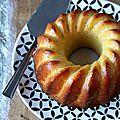 Gâteau à l'orange avec un soupçon de triple sec pour mon petit mari