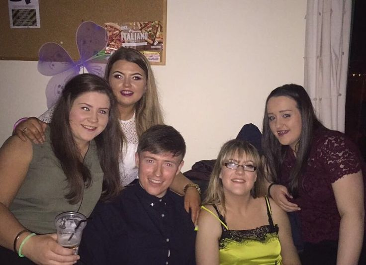 Annual night out with the Ballyraine squad! Made it home with my coat and wallet so this year was a success!