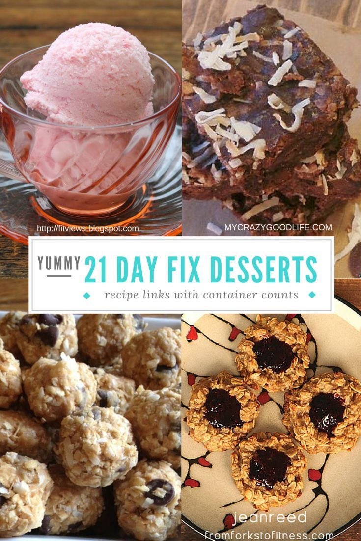 21 Day Fix Dessert Recipes