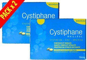 Cystiphane Bailleul- Cystine B6 -Zinc – Arginine – Cheveux et ongles – Santé – Force et Vitalité Protège du stress oxydatif – Complément…