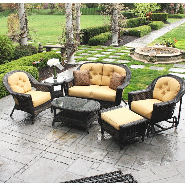 ... Delightful Outdoor Furniture Chicago Part   4: Best 25+ Wicker Patio  Furniture Ideas On ...