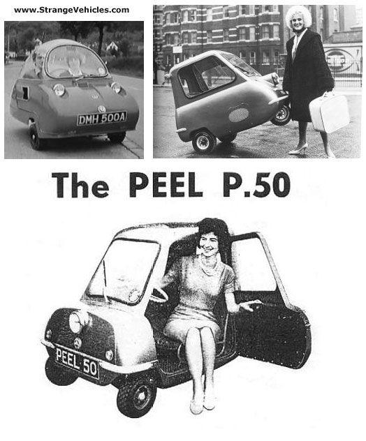 STRANGE LITTLE CAR – THE PEEL P-50
