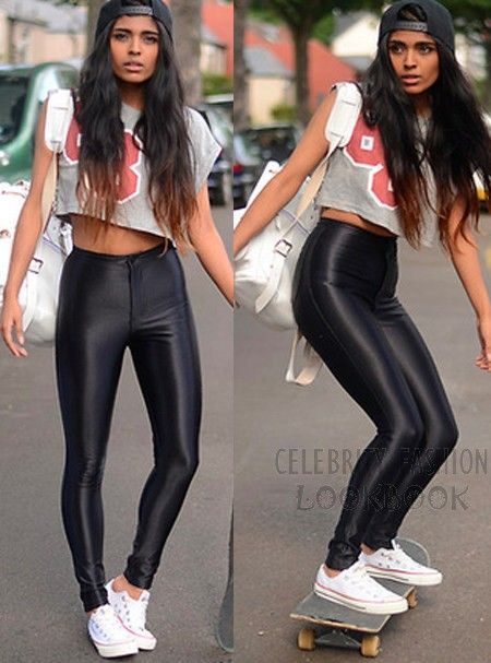 High Waisted Disco Pants - Socks & Leggings - Accessories $39.99 Free shipping worldwide  #fashion #leggings #street #teens