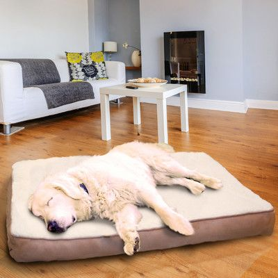 this dog bed from wayfair canada will provide a comfortable and durable sleeping place for your