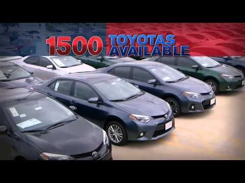 toyota memorial day car sales