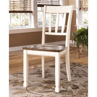 Shop for Signature Design by Ashley 'Whitesburg' Two-tone Dining Room Side Chair (Set of 2). Get free shipping at Overstock.com - Your Online…