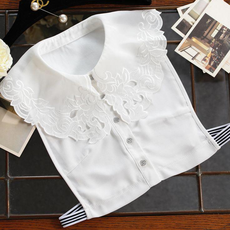 Aliexpress.com: Acheter Faux col chemise blanc Manteau Col Femmes d'achat  femmes