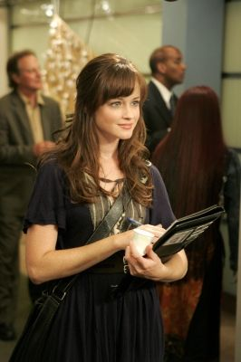 Alexis Bledel. I love her and I'm getting these bangs :)