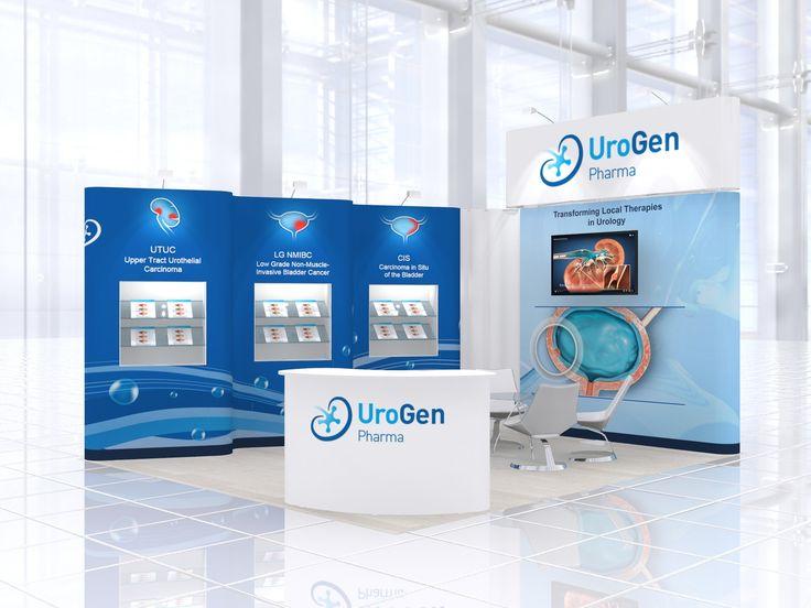 https://flic.kr/p/E5Ci4a   Exhibition stand design for UroGen Pharma   Exhibition stand design