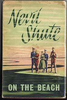 On the Beach is a 1957 post-apocalyptic novel written by British-Australian author Nevil Shute after he emigrated to Australia. The novel details the experiences of a mixed group of people in Melbourne as they await the arrival of deadly radiation spreading towards them from the northern hemisphere following a nuclear war a year previously.